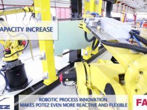 Vidéo de produit Robot Potez-Fanuc